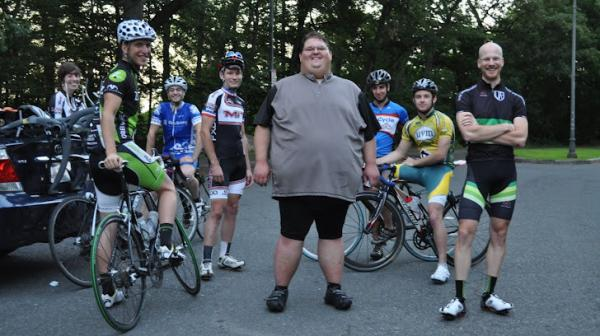 Ernest Gagnon weighed 570 pounds before he decided to lose weight by taking up cyclocross racing. Forgoing surgery, Gagnon lost more than 200 pounds and recently competed in his first cyclocross race.