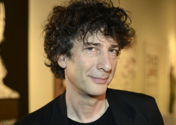 "Neil Gaiman's latest book is ""The Truth is a Cave in the Black Mountains."" He's pictured here on March 9, 2013. (Tim Mosenfelder/Getty Images)"
