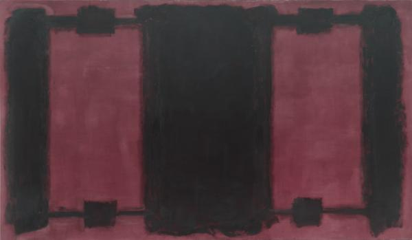 Mark Rothko's 1962 <em>Panel Four (Harvard Mural)</em> was one of five murals the artist did for Harvard University in the early 1960s.