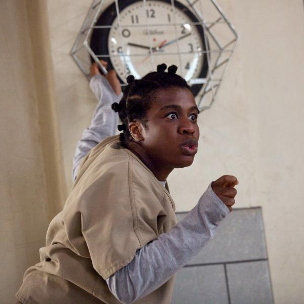"""She is 100 percent and authentically herself, always, at all times,"" Uzo Aduba says of her <em>Orange Is the New Black</em> character, ""Crazy Eyes."""