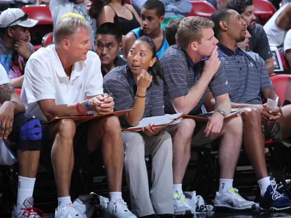This summer, Natalie Nakase became the first female assistant coach in NBA history.
