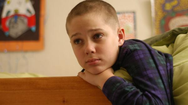 Mason (Ellar Coltrane) grows up over the running time of Richard Linklater's <em>Boyhood</em>.
