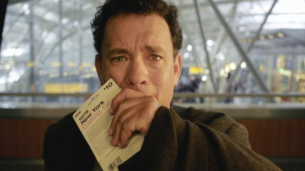 We can only assume this is the face Tom Hanks makes when watching one of his own movies.