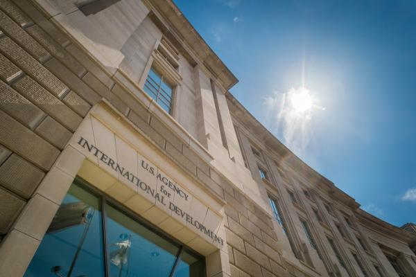 The headquarters for the U.S. Agency for International Development (USAID) is seen in Washington, Tuesday, April 1, 2014.  (J. David Ake/AP)