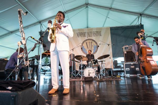 Like his bandmates, saxophonist Myron Walden has played with Brian Blade & The Fellowship Band for the better part of two decades.