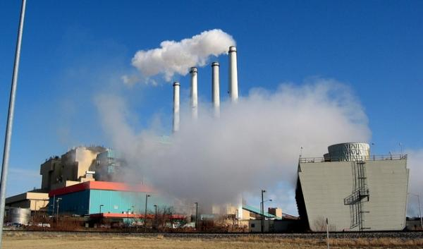 The PPL coal-fired power plant in Colstrip, Montana, in 2008. It's one of five coal-burning power plants in Montana. Regional power planners say a multi-state alliance could make it easier to meet carbon-reduction requirements.