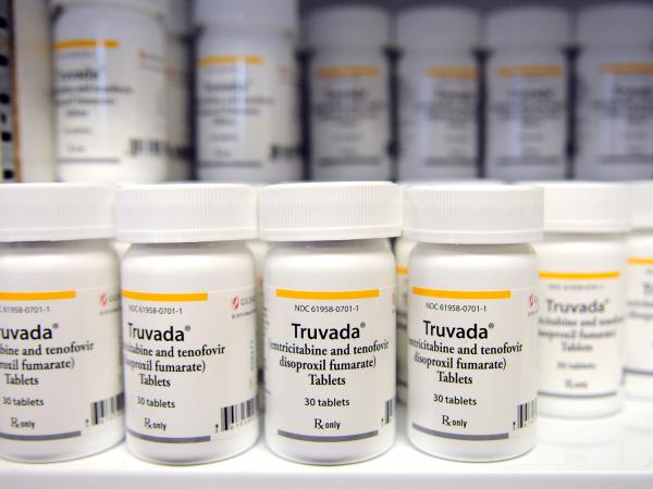 Truvada, an FDA-approved drug to help prevent HIV infection, is among the AIDS drugs that fill pharmacy shelves at the Whitman-Walker clinic, a Washington, D.C., community health center.