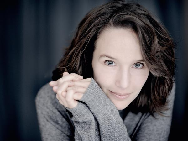 Pianist Helene Grimaud, the subject of a 2011 <em>New Yorker </em>profile.