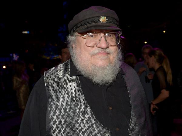 Novelist George R.R. Martin at Comic-Con Weekend on July 25 in San Diego.