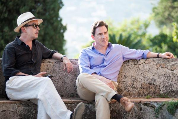 British comedian Steve Coogan (left), known for <em>Night at the Museum</em> and <em>Philomena, </em>and comic and impressionist Rob Brydon walk, talk and laugh in the new film <em>The Trip to Italy,</em> based in the Italian countryside. It's the sequel to <em>The Trip.</em>