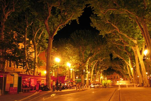 """Mary Lou Longworth has set most of her mysteries in Aix-en-Provence, a small city in Southern France. """"I liked the idea of this beautiful, beautiful place having a dark side,"""" she says."""
