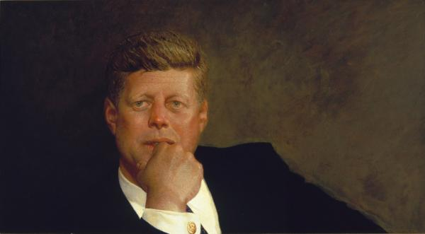 Portrait of John F. Kennedy, 1967 (Courtesy/Museum of Fine Arts)