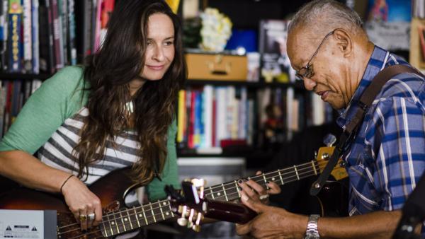 Tiny Desk Concert with Ernest Ranglin on June 25, 2014.