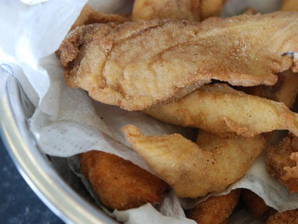Asian carp, battered and fried. As the fish makes its unwelcome way up the Mississippi River, chefs are trying to get people to eat to beat it back.