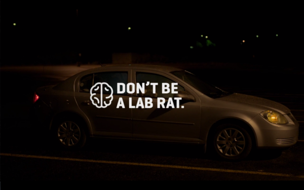 A new ad campaign in Colorado is aimed at teens who are - or may be thinking about - using pot. (Screenshot via Vimeo)