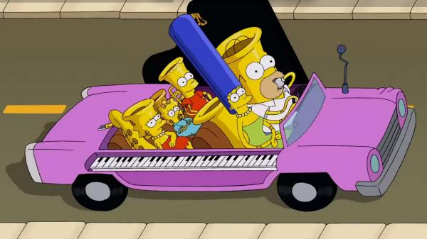 "From <em>The Simpsons</em> short ""Music Ville."""
