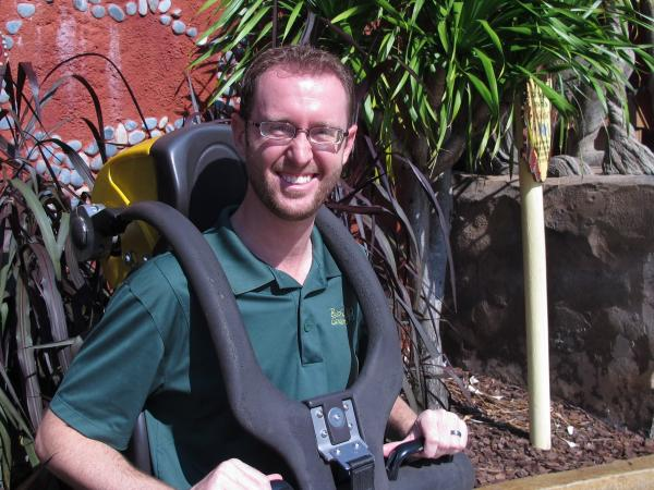 Jeff Hornick, Director of Design and Engineering at Busch Gardens Tampa