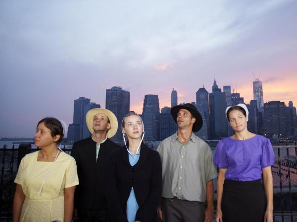<em>Breaking Amish</em> on TLC follows a group of young Amish and Mennonites who move to New York City.