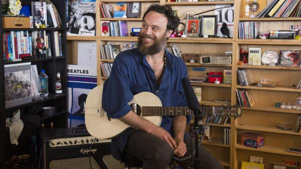 Rodrigo Amarante performs a Tiny Desk Concert.