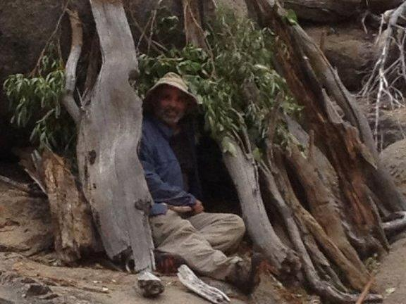 Mike Vilhauer was stranded in the California wilderness for five days without food.