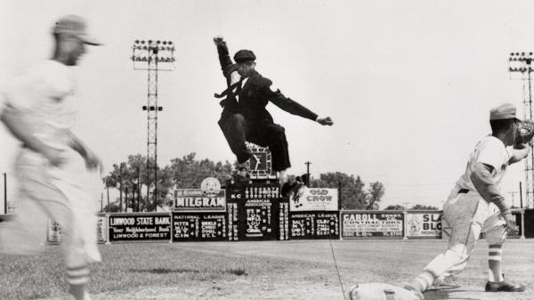 Bob Motley, 91, seen here in an undated photo, is the last surviving Negro League umpire.
