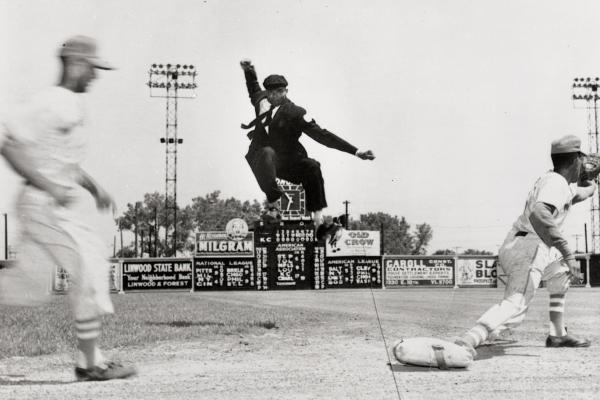 Bob Motley began calling balls and strikes while in the military, eventually landing with the Negro League in Kansas City.