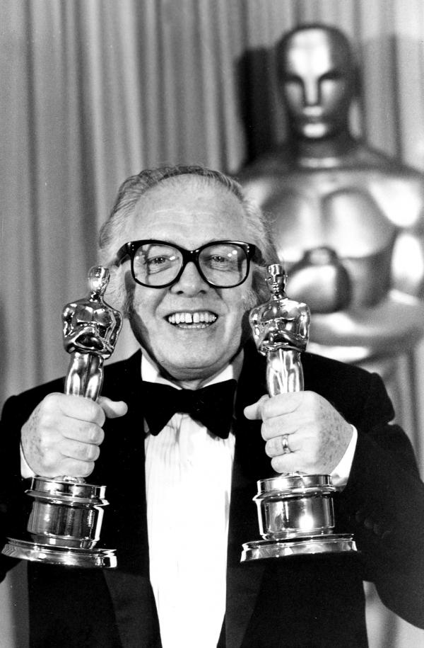 Director Richard Attenborough won two Academy Awards for <em>Gandhi</em>.