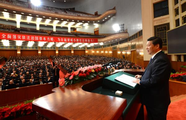 President Xi Jinping, shown speaking in 2012, has launched a number of crackdowns, like limited Internet speech. But his anti-corruption drive has helped make him widely popular among ordinary Chinese.