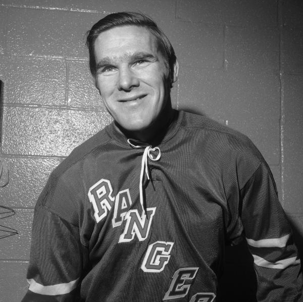Tim Horton, shown here in 1971 as a New York Ranger, founded his coffee shop chain in 1964.
