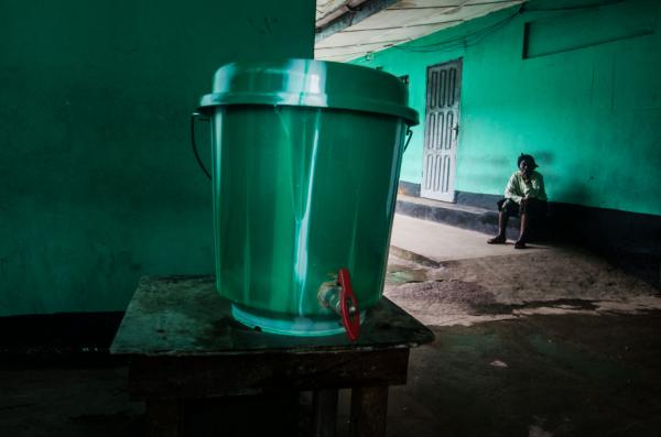 <p>Chlorinated water is the go-to disinfectant in the hospital and throughout the city.</p><p></p>