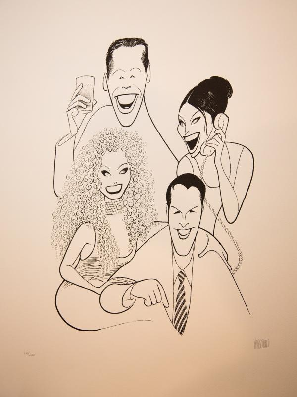 <em>Will & Grace</em> actors: Eric McCormack, Debra Messing, Megan Mullally and Sean Hayes.