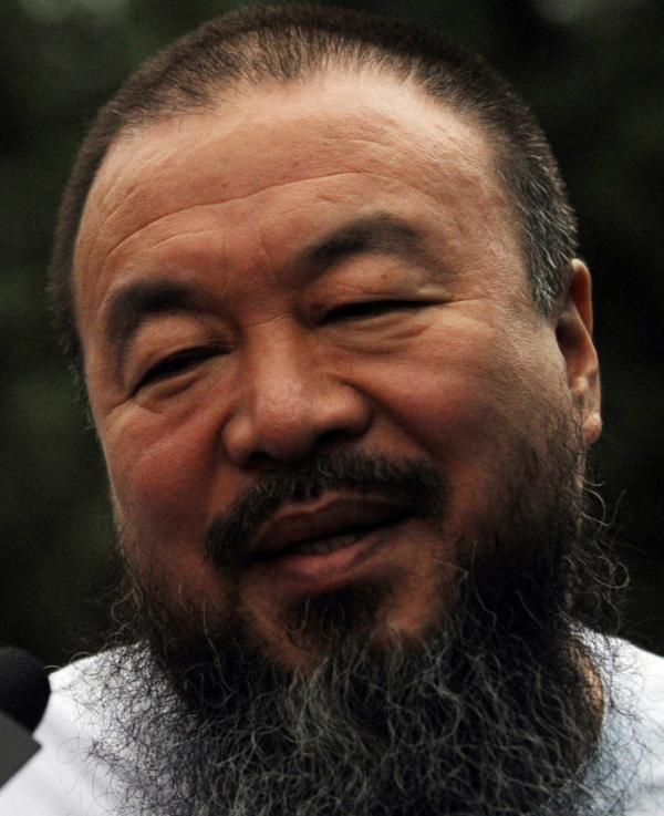 <p>Chinese artist Ai Weiwei in Beijing on June 23, 2011. </p>