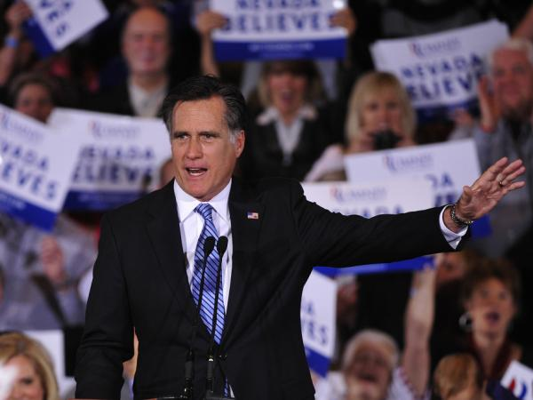 Republican presidential hopeful Mitt Romney won the Nevada caucus Saturday, maintaining strong front-runner status in the race to the nomination.