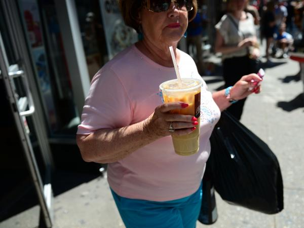 New York City Mayor Michael Bloomberg's proposed ban on large sugary drinks was so hard to swallow it caused some to call him a fascist, a word more often hurled at President Obama.