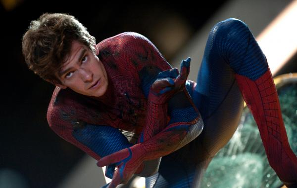 Andrew Garfield plays Peter Parker and his superheroic alter ego in <em>The Amazing Spider-Man</em>, Marvel Comics' reboot of the popular superhero film franchise, in theaters July 3.