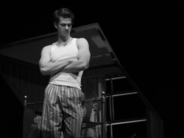 Andrew Garfield as Biff Loman in <em>Death of a Salesman</em>, directed by Mike Nichols.