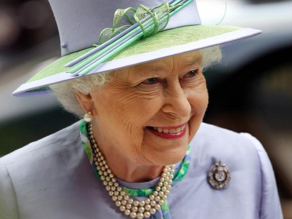 Britain's Queen Elizabeth II in London on Wednesday.