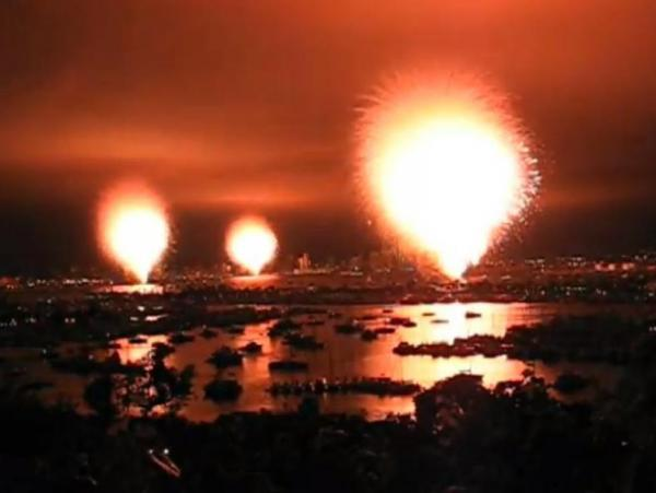 "Oops. A ""premature ignition"" in San Diego sent an entire fireworks show off at once."