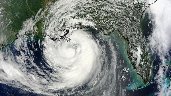 A NASA satellite captured an image of Hurricane Isaac as it approached Louisiana Tuesday. The storm has been moving at around 10 miles per hour.