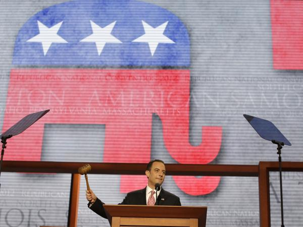 Republican National Committee Chairman Reince Priebus, shown here in August at the Republican National Convention, has named a five-member task force to conduct a review of what went wrong for his party in the November elections.