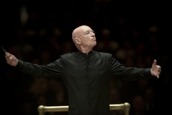 "In an interview with WQXR, Christoph Eschenbach called Rostropovich ""a great idol of mine since my youth,"" and explained how each of the three pieces on this Spring for Music program was meant to reflect a facet of Rostropovich's lifework."
