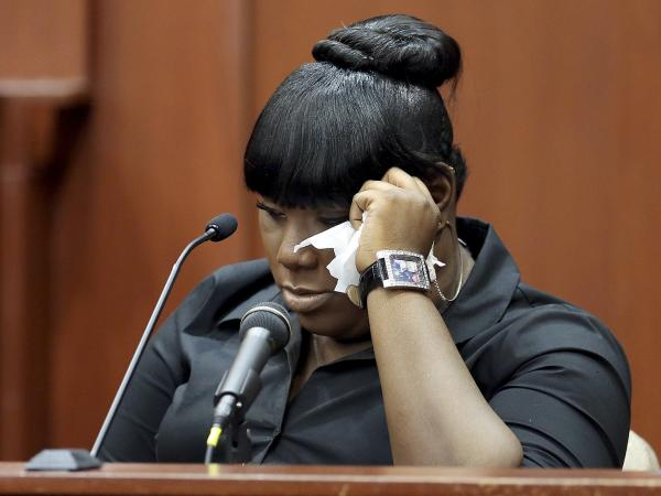 Rachel Jeantel, the witness who was on the phone with Trayvon Martin just before he was killed, gives her testimony during George Zimmerman's trial in Sanford, Fla., last month.
