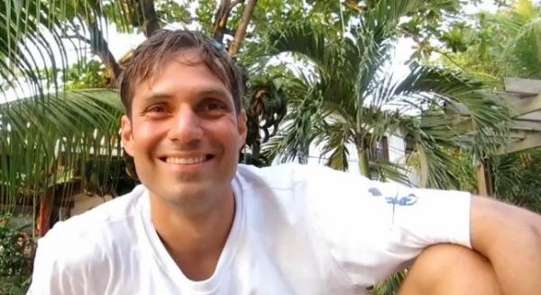 Nicholas Mevoli in a video, posted in in August. He talked of his love for freediving. On Sunday, Mevoli died after trying to set an American record.