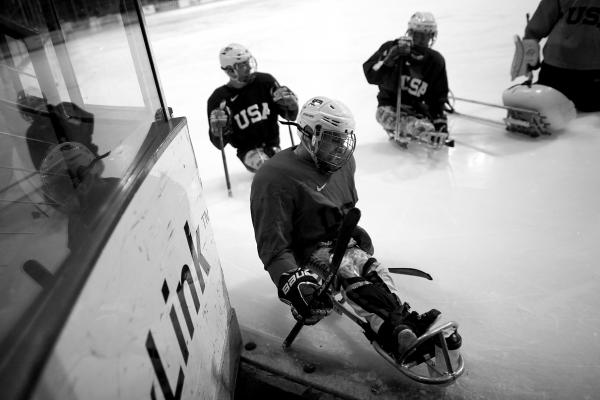 Sled hockey may be the fastest sport in the Paralympics.