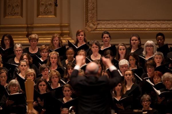 The Atlanta Symphony Orchestra Chorus, nurtured for so many years by ASO Music Director Robert Shaw, plays an important role in Britten's <em>War Requiem</em>, singing the words of the traditional Latin mass for the dead.