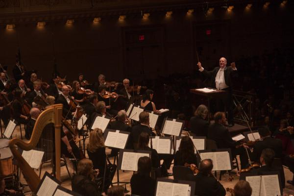 Atlanta Symphony Orchestra Music Director Robert Spano takes Benjamin Britten's massive and moving <em>War Requiem</em> to Carnegie Hall. Britten, a staunch pacifist, wrote the piece in 1961 for the re-consecration of England's 14th-century Coventry Cathedral after it was bombed in World War II.