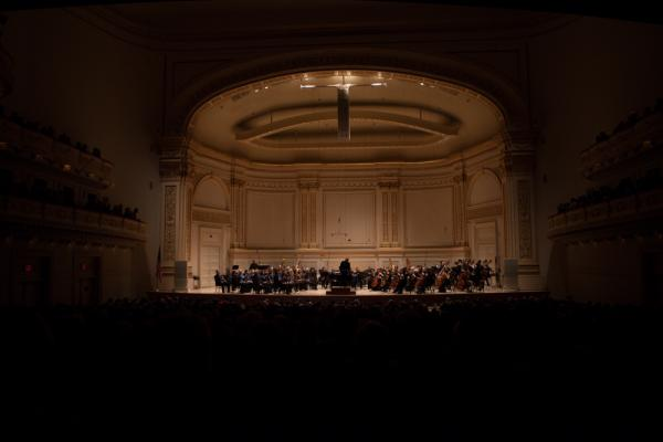 This was the first time John Luther Adams heard his piece live, and his first time in the storied Carnegie Hall.