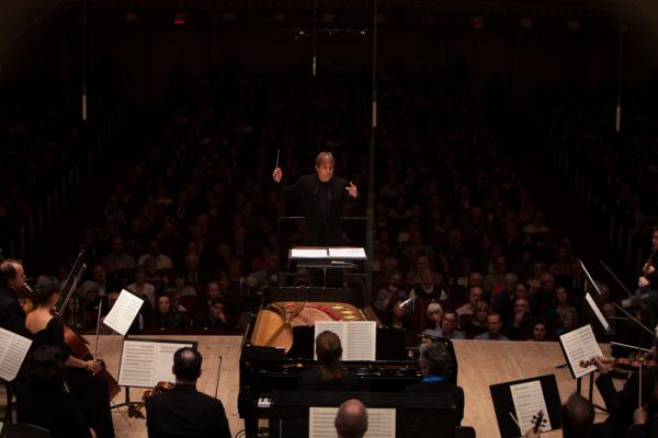 "Ludovic Morlot says he wasn't so familiar with the music of John Luther Adams before the Seattle Symphony commissioned <em>Become Ocean</em>. ""It took me a little while to enter this world,"" Morlot says of the new work. ""Forty-two minutes of keeping a steady pulse is not that easy to do."""