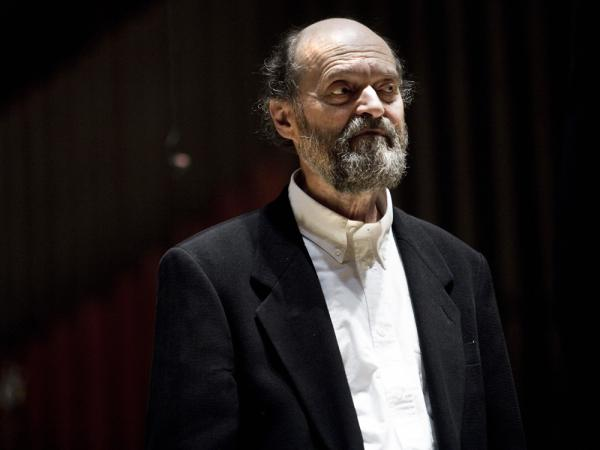 Estonian composer Arvo Pärt's music is celebrated at the Metropolitan Museum of Art with a performance of his choral work <em>Kanon Pokajanen</em> at the Temple of Dendur.