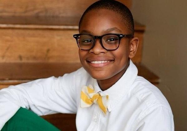 "12-year-old Moziah Bridges started his bowtie company, Mo's Bows, three years ago in Memphis. He says dressing well ""helps people respect you and it makes you look good."""